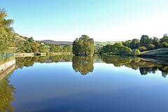 Autumn reflections (42jph) Tags: nikon d7200 uk england birch vale reservoir hayfield peak district derbyshire nature lake water wet reflections trees