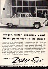 1957 Ford Zephyr-Six Mark II Sedan Aussie Original Magazine Advertisement (Darren Marlow) Tags: 1 5 7 9 19 57 1957 f ford z zephyr s six sedan c car cool collectible collectors classic a automobile v vehicle e english england british b britain 50s