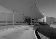 Covered Passageway (ARTUS8) Tags: blackwhite flickr industrie nikon1635mmf40 modernearchitektur nikond800 highkey
