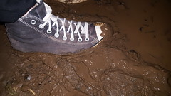 Sockless Trashed Converse Mud Walk (That Sneaker Lover) Tags: converse mud muddy emo feet gay bi hard teen sexy shoes sweaty smelly sockless awesome wet verywellworn well worn