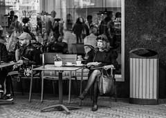 City life / The Hague 2018 (zilverbat.) Tags: candid streetcandid streetphotography streetportrait timelife urbanlife zilverbat candidphotography mono pin monochrome zwartwit woman world streetshot straatfotograaf straatportret people straatfotografie portrait peopleinthecity image innercity bijenkorf streetlife city citylife zwartwitfotografie canon cinematic thehague thenetherlands town tourist tour tourism urbanvibes blackwhitephotos blackwhite blackandwhite blanco black noir calendar artistic cafe bar dutch denhaag dutchholland dramatic magnum terras lady social story