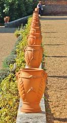 Pot-Shot (MedievalRocker) Tags: pots terrace hamhouse nationaltrust