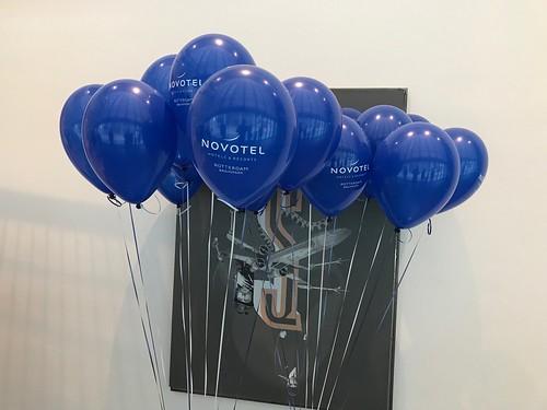 Heliumballonnen Bedrukt Pathe Schouwburgplein Novotel Rotterdam