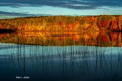 Thorton Lake, MI (alj70) Tags: algercounty h13 hiawathanationalforest michigan thorntonlake upperpeninsula sunrise