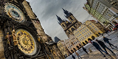Old Town Square (Colin Campbell Photography) Tags: czechrepublic oldtownhall oldtownsquare prague praha tynchurch astronomicalclock