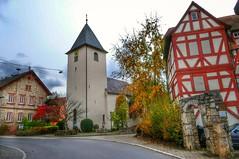 Kirche mit Schlösschen Sachsenflur