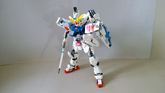 LEGO Gundam F91 (demon1408) Tags: f91 mobile suit gundam kidou senshi arno seabook movie figure mecha robot model kit lego technic herofactory brick bionicle creation moc 160 vsbr