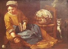 Bernhard Keil,Danish,1627-1687 The Lacemaker,1665,oil on canvas (marcos2077) Tags: metropolitanmuseumofart bernhardkeil