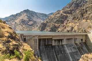 Dam on the Snake River