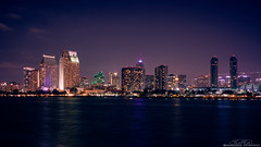 The great San Diego (Davide Perego) Tags: sonya6000 sonyalpha sony2870 sony sandiego skyscreapers light sea seascape city cityscape captureone exploring travel travelphotography night nightscape nightscapephotograpy cityscapephotography california usa