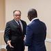 Audience avec Monsieur Hafez Ghanem, Vice-Président Afrique du Groupe de la Banque Mondiale-2