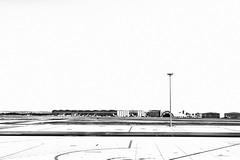SVQ (just.Luc) Tags: airport aéroport luchthaven flughafen spain spanje espagne españa spanien andalusië andalucía andalusien andalousie andalusia sevilla seville séville europa europe bn nb zw monochroom monotone monochrome bw
