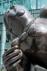 the Lady of Bishopsgate-8 (vibrant-aero) Tags: london city bishopsgate sculpture