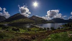 Carn-gorm 1 (Bilderschreiber) Tags: carngorm scotland clouds wolken sonne sun sky himmel schottland unitedkingdom uk weitwinkel fischauge fisheye