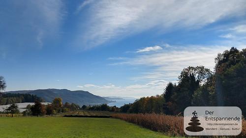 Blick auf den Bodensee, Wandern von Ludwigshafen nach Stockach
