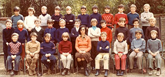 Class Photo (theirhistory) Tags: class school form pupils teacher boy children kids jumper trousers jacket shoes wellies rubberboots
