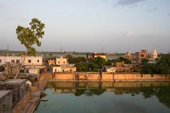 Syamakund - From up (thomas.pirolt) Tags: radha radhakund shyamakund goverdhan braj krishna vrindavan india sony a7 a7ii