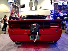 ORACLE Booth Car - SEMA 2018 (ORACLE LIGHTING) Tags: semashow sema sema2018 sema18 challenger dodgechallenger dodge mopar led leds lights lighting oraclelights oracle car show moparian vegas chally cars auto automotive oracleleds oraclelighting automotivelighting aftermarket autoparts halos