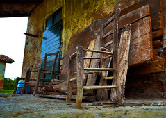 21 (marcomarchetto956) Tags: chair old abandoned wood stilllife composition