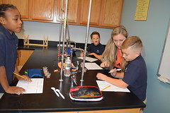 High School and 2nd Grade Science Experiment
