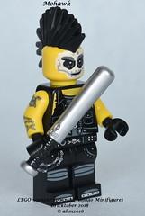 LEGO 5005257 Ninjago Minifigures - Mohawk (KatanaZ) Tags: lego5005257 ninjagominifigures harumionimaskofhatred futurejay mohawk nya lego bricktober