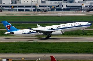 China Southern Airlines | Airbus A330-300 | B-6098 | Shanghai Hongqiao