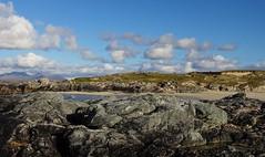 rocky shore (annabunin) Tags: ireland atlantic shore rocks clouds beach mayo coast sky