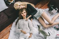 Nyx&Rayna (bybarnsdolls) Tags: integritytoys jasonwu fashionroyalty fashiondolls dolls doll nuface
