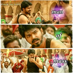 Man of mass #mersal #swag #cuteness (THALAPATHY PRAKASH) Tags: cuteness swag mersal