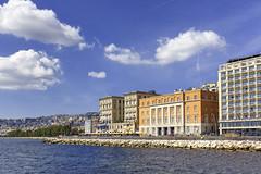 Lungomare Naples (nietsab) Tags: bleu