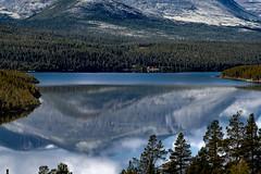 Lake of Tranquility (e-box 65) Tags: lake ship boat mountain rondane norway norge autumn tranquility refelction nikon scandinavia tranquil sohlberg d5300 55 300
