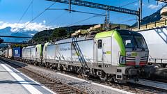 BLS Re 475s 402 & 401 Spiez 07 July 2018 (6) (BaggieWeave) Tags: switzerland swisstrains swissrailways spiez berneseoberland cantonbern vectron bls ch