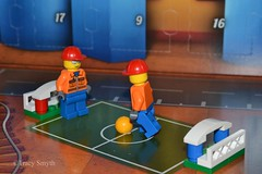 Kick about (344/365) (Tas1927) Tags: 365the2018edition 3652018 day344365 10dec18 lego minifigure minifig
