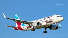 D-AEWS Eurowings Avis car hire Airbus A320-214(WL) cn 7439 (thule100) Tags: daews eurowings aviscarhire airbusa320214wl cn7439 eddh ham hamburg frankkrause
