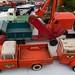 Metal toy trucks at Preston,Kentucky  Court Days.