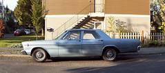 1966 Ford Custom 500 (Curtis Gregory Perry) Tags: portland oregon panorama ford custom 500 1966 66 blue sedan car old classic vintage nikon d810 auto automobile automóvil coche carro vehículo مركبة veículo fahrzeug automobil