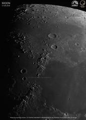 MOON. Sept 17, 2018. (Sky Watchers Association of North Bengal - SWAN - ) Tags: swan sky moon telescope celestron zwo asi edgehd tezpur university astronomy club