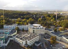Szczecin Zdroje Hospital (megashadowed) Tags: kap simplex szczecin kite aerial