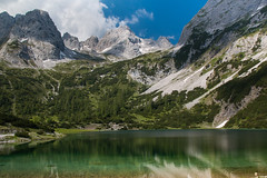 Seebensee 2 (markus364) Tags: bergsee berge mountains mountainlake wasser alpen alps austria tirol tyrol seebensee see lake österreich zugspitzgebiet landscape landschaft