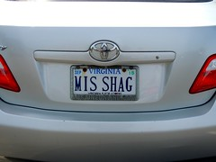 MIS SHAG (William Young Fascinations) Tags: virginia licenseplate misshag vanityplate