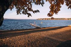 Iisalmi (Tuomo Lindfors) Tags: iisalmi finland suomi myiisalmi rni allfilms syksy autumn porovesi järvi lake vesi water uimaranta beach laituri pier