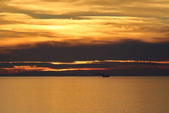 Going, going,gone Colour (mcdowall.mark) Tags: sunset sea firth clyde ayrshire scotland 2018 canon 700d jupiter21m 200mm manual lens colour