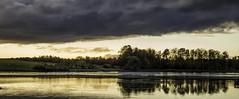 Last Light 5 (DXW1978) Tags: durhamlakewater hardwickhall sunset nature landscapepanasonic lumix fz80 fz82 raw dusk clouds trees