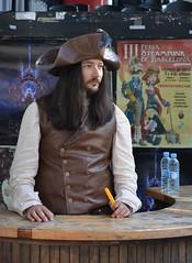 V Feria Steampunk Barcelona (Cíclope0) Tags: feria steampunk barcelona cosplay costume disfraz hat sombrero