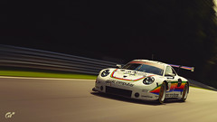 Porsche 911 GT3 RS Gr. 3 (at1503) Tags: car track circuit porsche porsche911gt3rs racingcar speed motion blur movement nurburgring germany germancar classiclivery applecomputerlivery gtsport granturismo granturismosport motorsport racing game gaming ps4 wheels colours trees