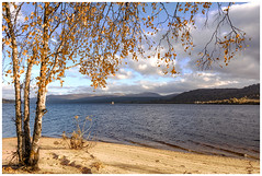 Loch Rannoch, Scotland (theimagebusiness) Tags: theimagebusinesscouk theimagebusiness photography photographersinscotland outdoors outside open freedom free beach beautiful landscape seascape loch lake freshwater lochrannoch perthsire autumn fall sand mountains water beauty nature naturallight cloud colours d810 highland location nikon quiet rural sky travel tourism uk visitscotland weather birch calm cold