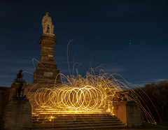 Light Painting Experiment (Durham Stephen) Tags: tynemouth night light lightpainting sonya7mk2 2470gmaster longexposure