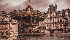 Paris - Carrousel Hotel de ville (baridue) Tags: hotel hoteldeville paris parigi francia capitale europa weareinfrance giostra municipio carrousel belle epoque
