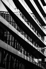City of Glass (AlistairBeavis) Tags: hss mono blackandwhite reflection glass city architecture london lines 52weeks