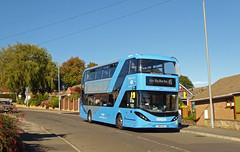 Nottingham City Transport 438 (SRB Photography Edinburgh) Tags: nottingham city transport buses bus sky blue 45 travel uk england